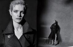 Natalia Vodianova by Peter Lindbergh for Dior Magazine 10 | The Fashionography