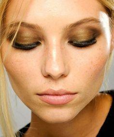 3. or - 7 #teintes de belle #ombre à paupières pour les yeux #marron... → #Makeup