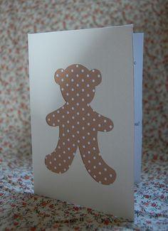 teddy bear's picnic invitations by cupcakes for clara, via Flickr