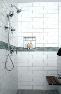 U Bahn Fliesen Badezimmer Dusche