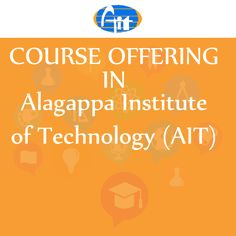 #Alagappa #Institute #of #Technology Course Offered In Alagappa University http://ow.ly/SOsy304Sx7Z