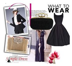 """""""Simple-dress #6"""" by eminajamakovic ❤ liked on Polyvore featuring vintage and simpledress"""