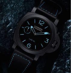 A Close-Up Look at the Panerai PAM700 LAB-ID Luminor 1950 Carbotech — Possibly the Most High-Tech Panerai Yet