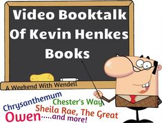 """Wonderful """"show and tell"""" video of Kevin Henkes books! This 7 minutes booktalk covers all popular titles by Kevin Henkes. Great way kick off an author study unit! Kevin Henkes Books, Library Lessons, Library Ideas, Elementary School Library, First Grade Reading, School Videos, Author Studies, Mentor Texts, Readers Workshop"""