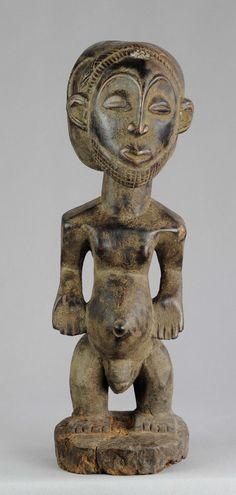 Superbe statue d'ancêtre HEMBA Congo ancestor figure Art Africain Tribal | eBay
