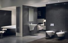 Modern Bathroom Designs Compact Bathroom Suites Bathroom Renovations in Suite Bathroom Design Ideas Contemporary Bathroom Designs, Best Bathroom Designs, Bathroom Design Luxury, Bathroom Trends, Bathroom Ideas, Bathroom Renovations, Ideal Bathrooms, Public Bathrooms, Luxury Bathrooms