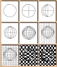 Op Art on Pinterest | Victor Vasarely, Optical Illusion Art and ...