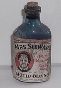 Mrs. Stewart`s Liquid Bluing. Click the image for more information.