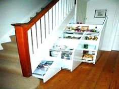 Smart Ideas for Under Stairs Storage Space