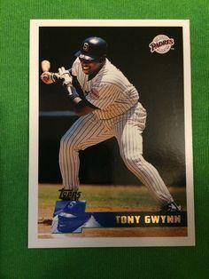 1996 Tony Gwynn Baseball Card Topps #250 San Diego Padres MLB #SanDiegoPadres
