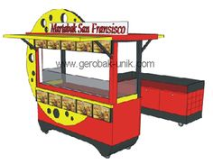 Chicken Store, San Fransisco, Food Truck, Bunk Beds, Parties, Display, Furniture, Home Decor, Sheds