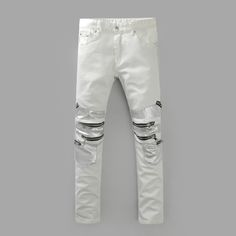 http://fashiongarments.biz/products/europe-punk-style-slim-biker-jeans-men-fashion-street-amazing-special-pants-runway-slim-sliver-spliced-washed-white-mens-jeans/,    Europe Punk Style Slim Biker Jeans Men Fashion Street Amazing Special Pants Runway Slim Sliver Spliced Washed White Mens Jeans 28-40 Hello! Welcome to our ...,   , fashion garments store with free shipping worldwide,   US $74.75, US $48.59  #weddingdresses #BridesmaidDresses # MotheroftheBrideDresses # Partydress