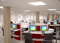 office workstations design. Modern Office Workstations Design By 3DA: Best Office Interior Designers In  New Delhi, Gurgaon (Gurugram), NOIDA, India. I