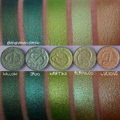 DEVINAH COSMETICS EYESHADOWS ($5 EACH) ***SAVE 20% WITH THE AFFILIATE CODE: BEAUTYCULT*** Continuing ...