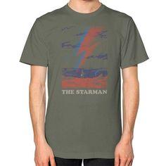 The Starman Unisex T-Shirt (on man)