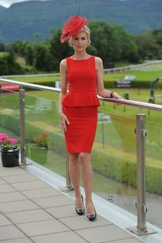 Yvonne Keating flew in for the day to judge Ladies Day at the Killarney Races in Kerry.    Read more: http://www.independent.ie/lifestyle/independent-woman/fashion/red-hot-yvonne-keating-breaks-her-sun-holiday-for-a-day-at-the-races-in-kerry-3174224.html#ixzz219ctsd9h
