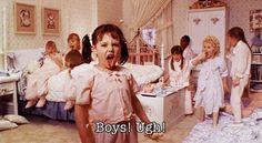 Boys! Ugh!