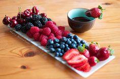 Yummy fruit platter!