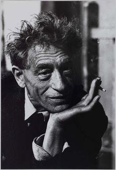 Alberto Giacometti. 1965. Photographie de Jean Marquis (né en 1926).