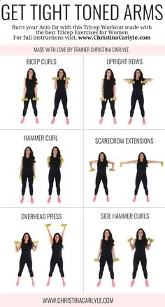 Easy Yoga Workout - Arm Workout for Women | Posted By: CustomWeightLossP... Get your sexiest body ever without,crunches,cardio,or ever setting foot in a gym