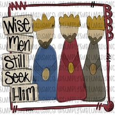 Christmas Wise Men Ready to Press Sublimation Transfer All Things Christmas, Christmas Diy, Glass Paint Markers, Cute Cuts, Wise Men, Writing Prompts, Painted Rocks, Clip Art, Kids Rugs