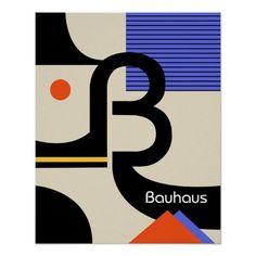 Shop bauhaus typography retro modern graphic design poster created by retroinspiredprints. Minimalist Graphic Design, Retro Graphic Design, Japanese Graphic Design, Graphic Design Posters, Vintage Design, Graphic Design Inspiration, Poster Designs, Typography Inspiration, Poster Sport