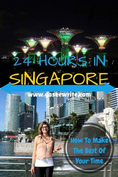 Heading to Singapore but shore on time? Here's a great 24 hour itinerary to make the most of your visit!
