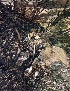 Undine (1909) by Arthur Rackham