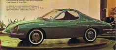 Renault 8 Ghia prototype - 1964