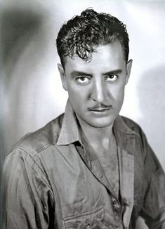"Silent star John Gilbert, one of the great tragedies of the transition to sounds. His career was destroyed by the lack of technical elements in recreating sound, along with his angry relationship with Mayer. ""The Artist"" is loosely based on Gilbert."