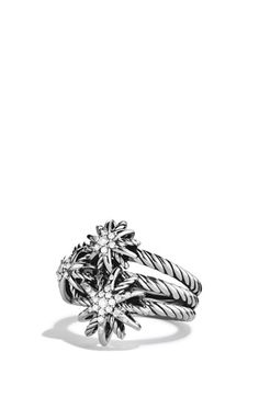 David Yurman 'Starburst' Cluster Ring with Diamonds available at #Nordstrom