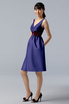 cd5a1695c9 I love this dress because you can choose the color combination for the top,  belt