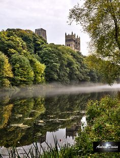 Durham Cathedral and River, England