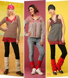 1980s Leg Warmers | Pictures of different ways to wear leg warmers