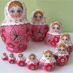 Cheap russian babushka doll, Buy Quality doll wrestling directly from China doll russian Suppliers:Material: WoodColor: Beige, Blue, Pink, RedA set of 10 pieces of new wooden dollsIt is of high quality and even the smal