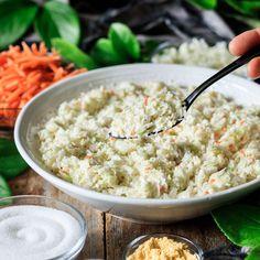 Copycat Chick-fil-A Coleslaw Chick Fil A Coleslaw Recipe, Coleslaw Mix, Superfood Salad, Vegetarian Cabbage, Latest Recipe, Food Facts, Side Salad