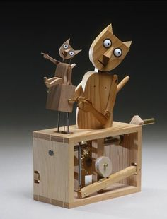 """Barecats"" This Fourteen Balls Toy Company Design was made by Matt Smith, and is based on a drawing by Paul Spooner."