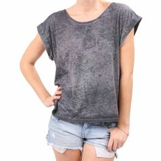 Breezy Top Heather Charcoal, $39, now featured on Fab.