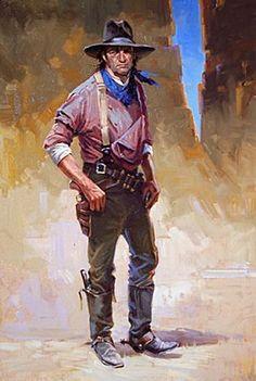 "John Thongnoi ""mean bill"" Art styles western various series B (JT)"