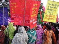 Día Internacional de la Mujer 2005, Bangladesh