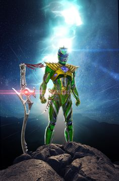 Green Ranger (Power Rangers movie) Power Rangers Movie 2017, Power Rangers Fan Art, Power Rangers Cosplay, Green Power Ranger, Tommy Oliver, Robot Cartoon, Movies And Series, Power Man, Twilight Princess