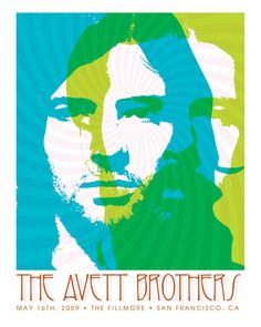 The Avett Brothers (perhaps my favorite concert poster of them)