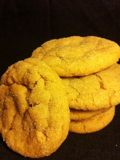 Super soft, thick peanut butter cookies.  You will never make another recipe after this one!