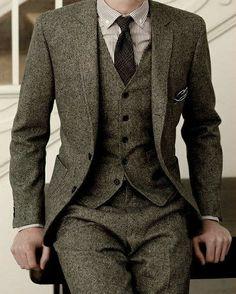 """le Tweed. 3-Piece. """"The Professor"""""""