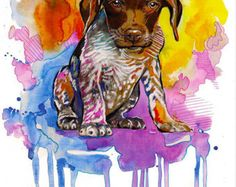 german shorthaired pointer – Etsy