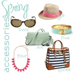 The Fashionable Wife: Spring Accessories