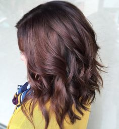 Image result for chocolate brown hair with highlights