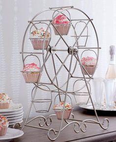 Cupcake Ferris Wheel.