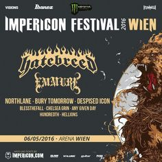 Line Up - Impericon Fesrival 2016 - Wien