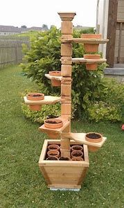 Image result for Easy to Build Plant Stands